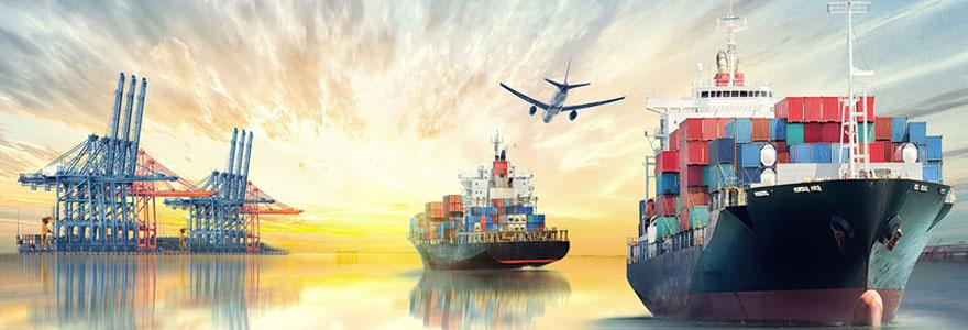 les opérations logistiques à l'international